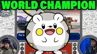Togedemaru  - (Pokémon) - TOGEDEMARU JUST WON POKEMON WORLDS BY MAKING THE OPPONENT FORFEIT!