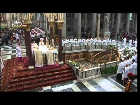 Messe à Saint Paul Hors-les-Murs