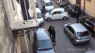 preview picture of video 'Automobilista imbranato paralizza la viabilità a Cardito Napoli - Fiat 500 Epic parking FAIL'