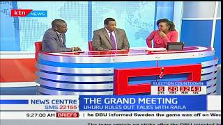 News Center discussion: The Grand meeting between IEBC and presidential candidates Part 1