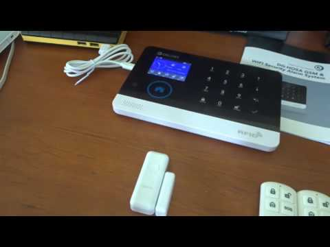 Unboxing and Full Demonstration of the Digoo HOSA Home Security Alarm