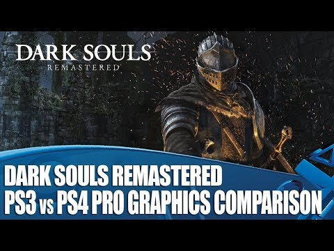 Dark Souls Remastered – PS3 versus PS4 Pro Graphics Comparison