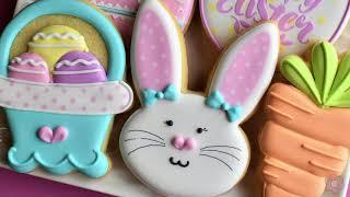 Easter Cookie Tutorial - FIVE Designs!
