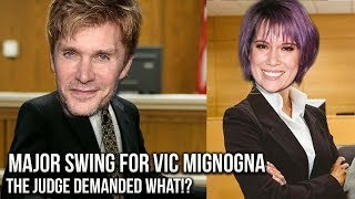 Vic Mignogna Court Case Judge Orders Mediation To ALL Sides!? Major Win!? #iStandWithVic