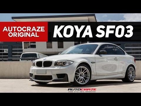 SAVAGE BIMMER // KOYA SF03 MAG WHEELS // BMW 1 SERIES RIMS | AutoCraze