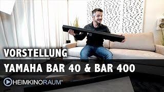 YAMAHA Soundbar MusicCast BAR 40 mit SUB 100 & BAR 400. Die vielleicht beste Soundbar bis 1.500 Euro