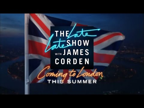 The Late Late Show Is Coming to London