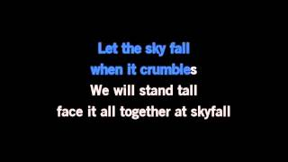 Adele   Skyfall ( Karaoke Version )