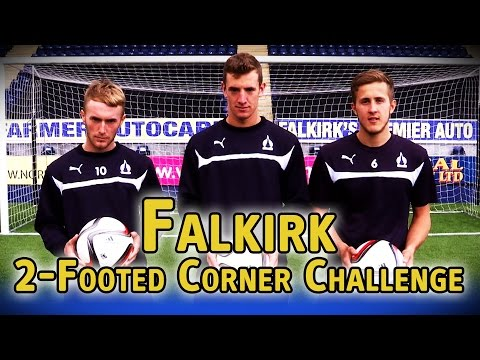2-Footed Corner Challenge - Falkirk - The Fantasy Football Club