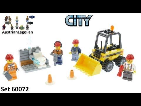 Vidéo LEGO City 60072 : Ensemble de démarrage de démolition