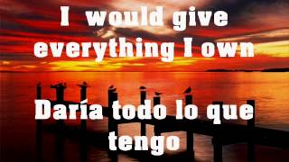 Jude -Everything I Own - sub español   lyrics