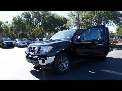 Certified Pre-Owned 2019 Nissan Frontier Crew Cab 4x2 SL Auto