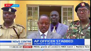 Police launch a man haunt on a man who stabbed and killed an AP officer