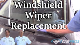 Windshield Wiper Replacement Subaru Impreza