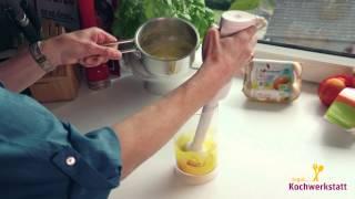 Vorschaubild für Video Orangen-Sauce Hollandaise