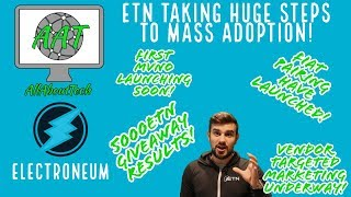 Electroneum Taking HUGE Steps to MASS ADOPTION! FIAT PAIRINGS LAUNCHED! FIRST MVNO LAUNCHING SOON!