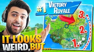 My NEW *400IQ* Loot Route For Competitive Solos! (TRY IT NEXT GAME!) - Fortnite Battle Royale