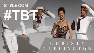 Christy Turlington: The Purest Beauty - #TBT With Tim Blanks - Style.com