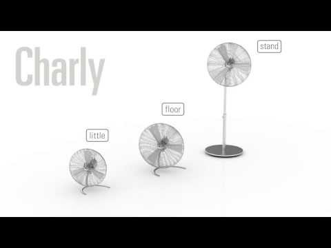 Youtube video about the Charly Fan by Stadler Form