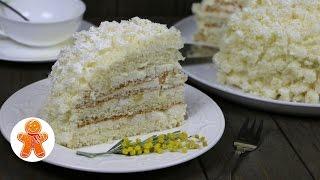 """Итальянский торт """"Мимоза"""" (Torta Mimosa)"""