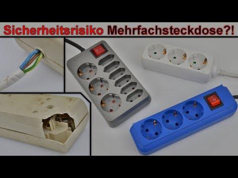 Gefahr durch Steckdosenleiste ?! - Alle wichtigen Infos zu Mehrfachsteckdosen und Sicherheitsrisiken