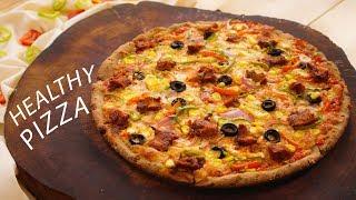 Multigrain Pizza Recipe – Healthy Atta Pizza Dough Sauce – CookingShooking