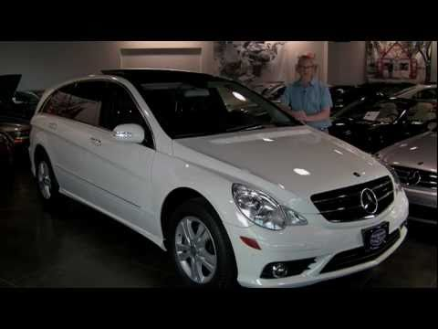 2009 Mercedes-Benz R350 4MATIC - Navigation, Sport & Entertainment Packages, Pano Roof - 23,414 mi