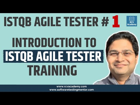 Introduction to ISTQB Agile Tester Training - YouTube