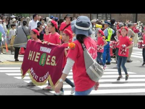 ヨコハマチキージャス/横浜市立日枝小学校・2016ザよこはまパレード