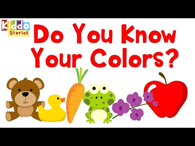 Learning Colors For Toddlers Primary Kids