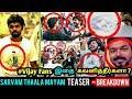 VIJAY FANS இதை கவனித்தீர்களா ? Sarvam Thaala Mayam Teaser - Breakdown | GV Prakash | Rajiv Menon