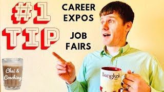 71. Best Tip For Job Fairs & Career Expos For International Students In America | Chai & Coaching