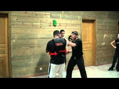 Jeet Kune Do Training with Equipments