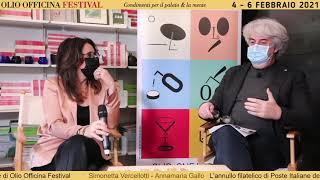 L'annullo filatelico di Poste Italiane alla decima edizione di Olio Officina Festival 2021