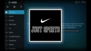 Deportes En Vivo Y Repeticiones [Addon Just Sports] - Mundo Kodi