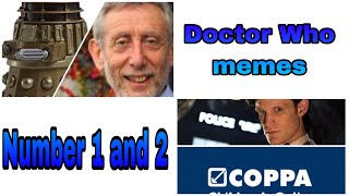 Doctor Who Memes (1 And 2)