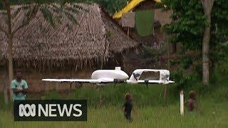Australian drones help deliver life-saving vaccines to remote areas of Vanuatu | ABC News