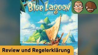 Blue Lagoon - Brettspiel - Review und Regelerklärung