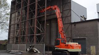 Cat e stc highreach demolition excavator rgs sloopwerken