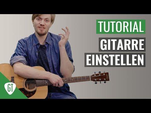 Gitarre RICHTIG Einstellen | Gitarren 1x1