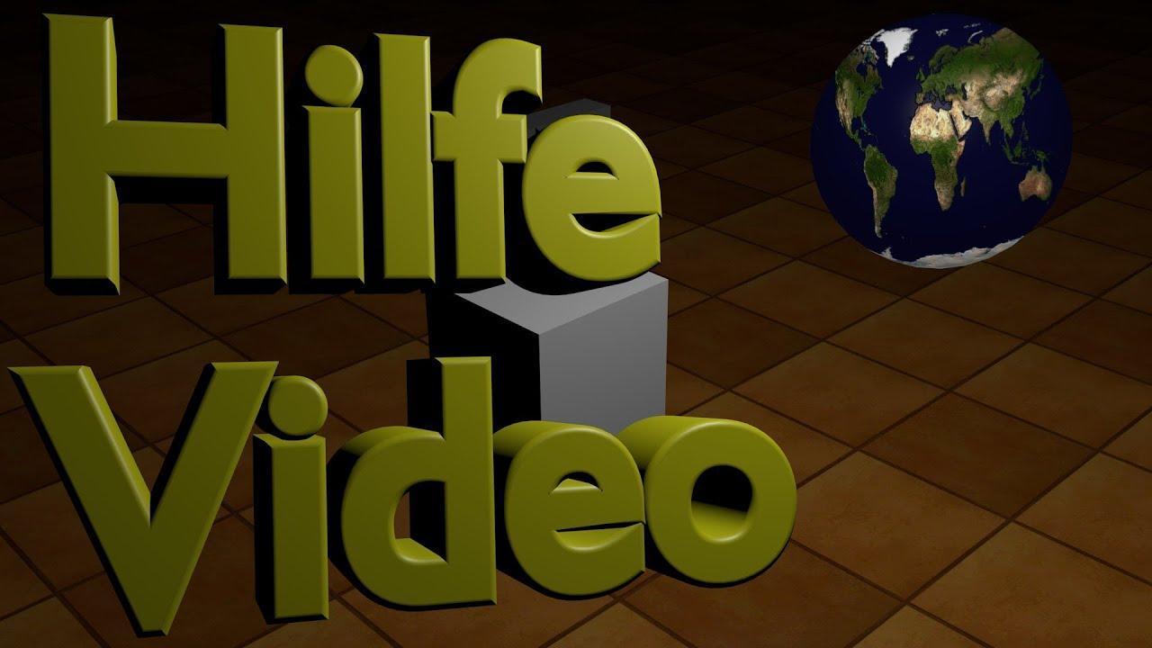 Blender Tutorial - Hilfevideo - Blender Game Engine 3d Tutorial