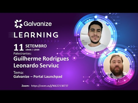 , title : 'Galvanize Learning Live 11 - Portal Launchpad 11/09/2020'