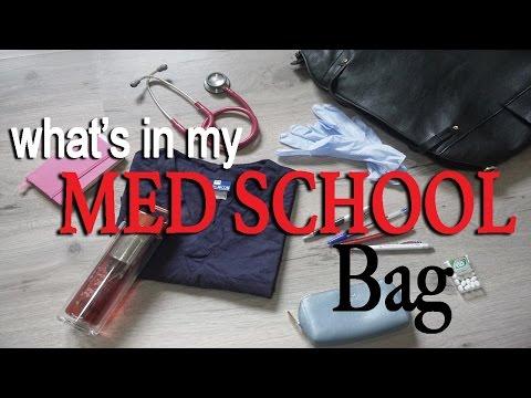 Cosa c'è nella mia borsa per il TIROCINIO di MEDICINA??