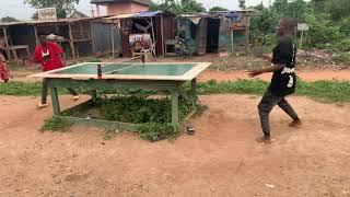 Amazing table tennis skills
