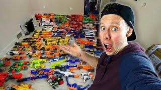 MY MASSIVE NERF GUN ARSENAL (400+ Nerf Blasters!)