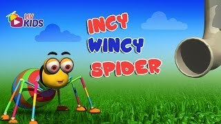 Incy Wincy Spider with Lyrics | LIV Kids Nursery Rhymes and Songs | HD