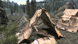 Skyrim Mod Showcase: HD Textures For Horses, Tents, and Carts