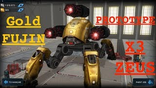 WAR ROBOTS - FIRE FLAME THROWER ( NEW ) &  ZEUS PROTOTYPE | TEST SERVERS