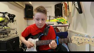 River Eminem Ed Sheeran Cover By 10 Year Old Hayden