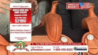 Martin American Made Barrel Racer And Team Roper Saddles